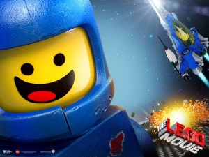 Den töntiga astronauten Benny. Se bara på hans sneda leende.