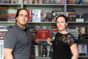 Elio García och Linda Antonsson, som gått dit få fans gått före dem.