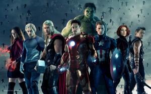 En av affischerna till Avengers - Age of Ultron