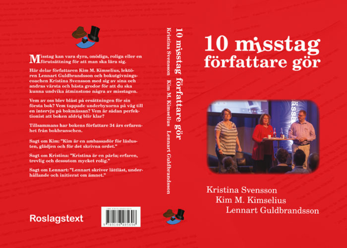 Omslag till Tio misstag författare gör